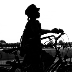 op fietse