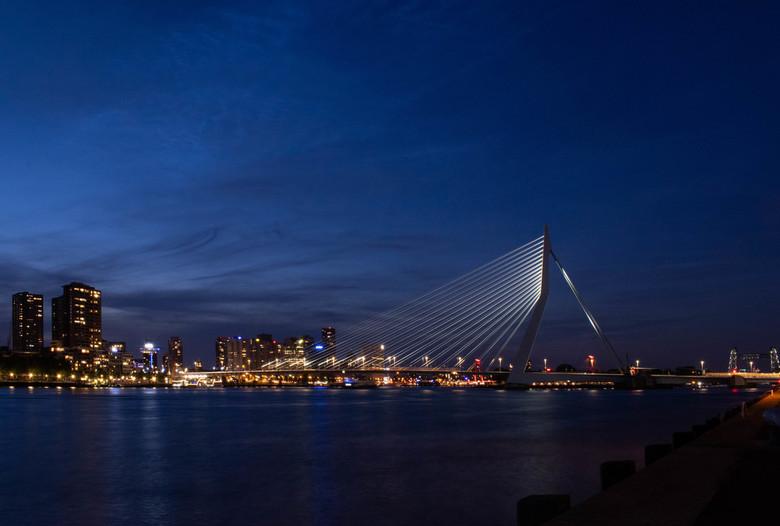 skyline rotterdam -