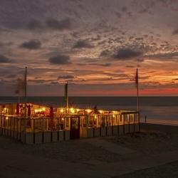 Zonsondergang op Texel.
