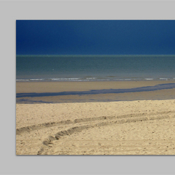 Strand na regenbui