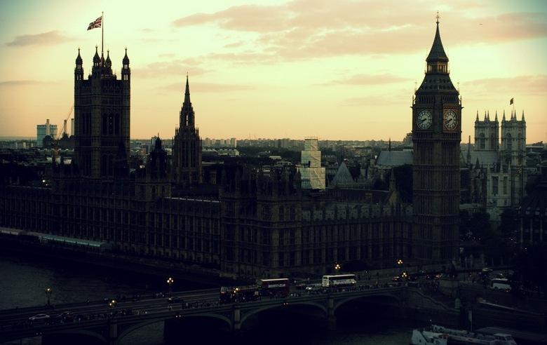 London Sky - weekend london