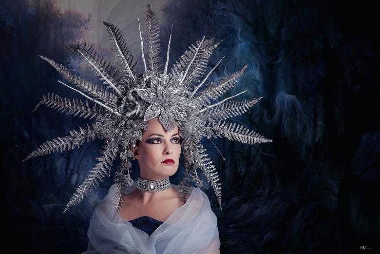 Mysterious Winter - Model: Florence Rapati<br /> Headpiece: Mir's Portfolio<br />