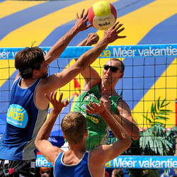 Beach Volleybal in Sint Antonis 2010