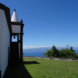 Azoren - Zicht op Pico