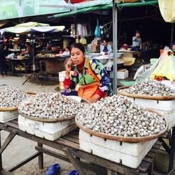 Markt in Cambodja