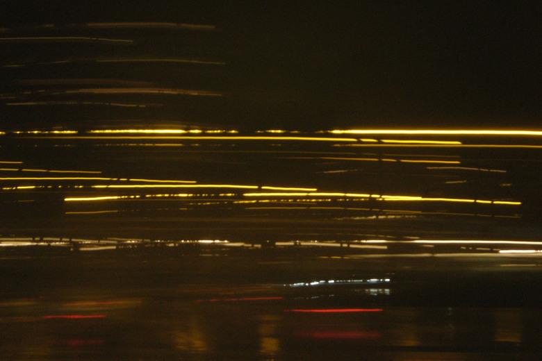 snel weg - langs de snelweg naar Almere