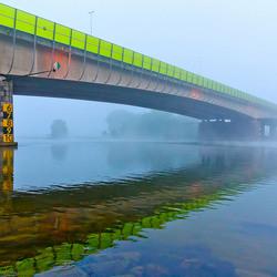 Mist aan de Maas.