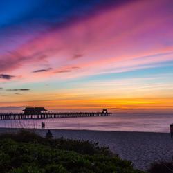 Naples sunset