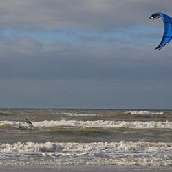 kitesurfer Noordwijk