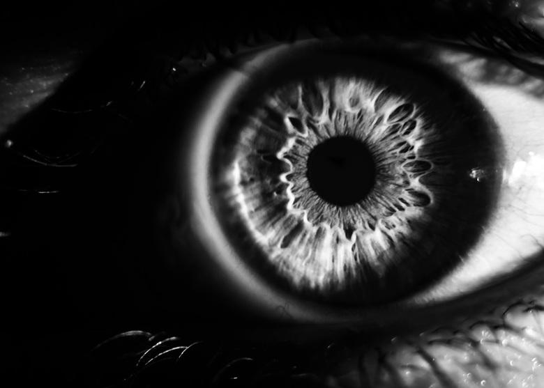 Eye B&W -