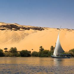 Feluka op de Nijl