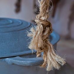 Aan de touwen...