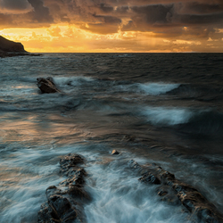 Crackington Haven Sunset