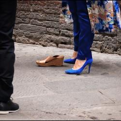 Toch even van schoenen wisselen