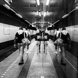 Reflective streetphotography - Copenhagen
