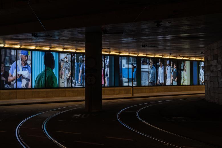 Tunnel onder Station V - Gent -