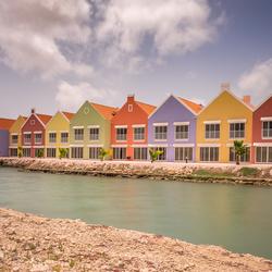 Gekleurde huisjes II