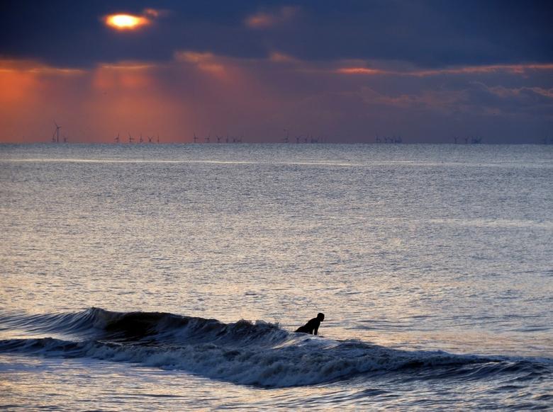 NO WORDS - een paar minuten voor m'n ander upload: avondlucht,nog aan zee...................no words needed