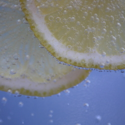 Vitamine C met bubbels