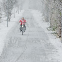 Sneeuw tegen