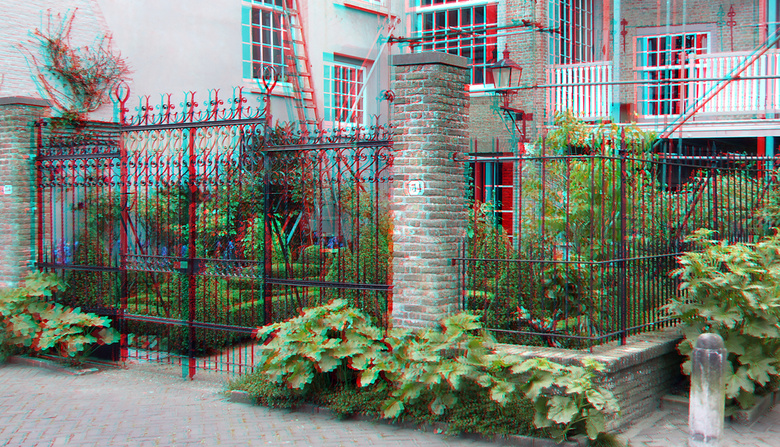 Taankade Dordrecht 3D - Taankade Dordrecht 3D<br /> anaglyph stereo red/cyan