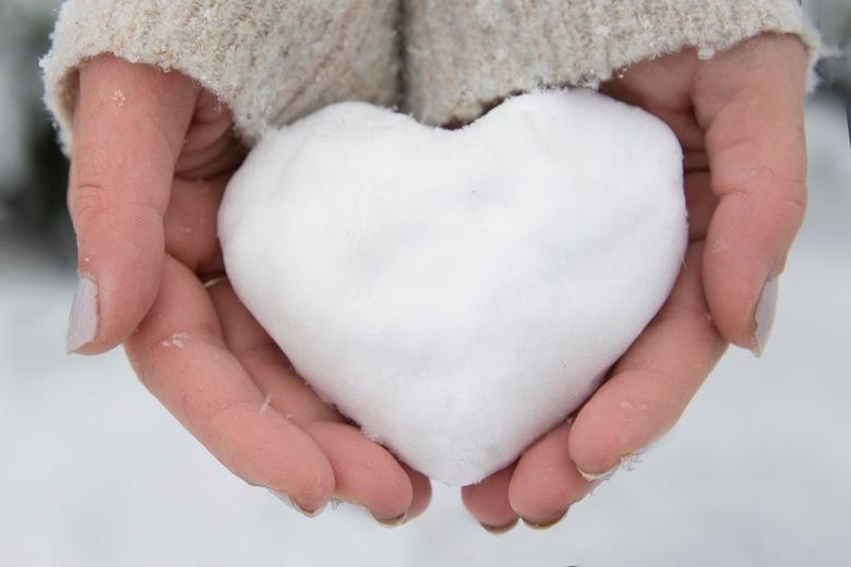 snow heart -
