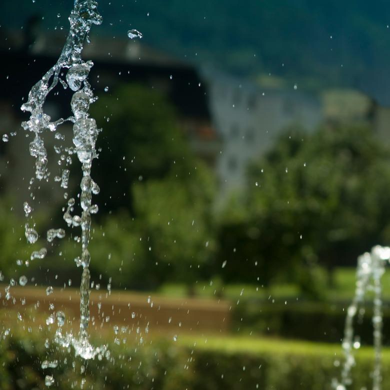 Waterspuwer - Deze foto hoort eigenlijk in de groep Zwitserland thuis, omdat hij is gemaakt in Brig in de tuin van het Stockalperpalast, maar omdat er