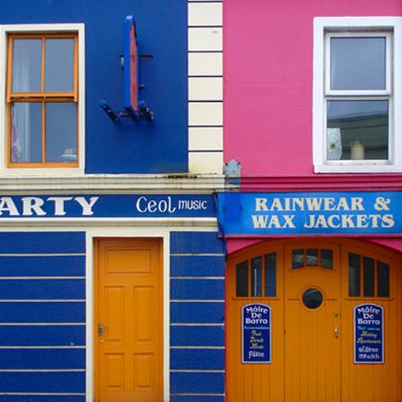 Kleurrijk Ierland -