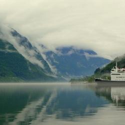 Ferry Skånevik op weg naar Balestrand