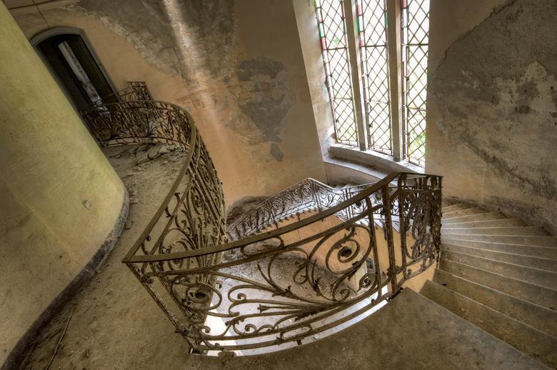 Shapes - Eén van de moeilijkste trappen tot nu toe dankzij de vreemde vorm. Maar ik ben wel tevreden over deze.<br /> <br /> Groet<br /> Daan<br />