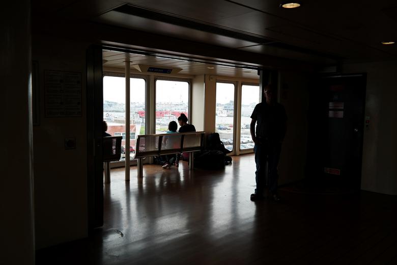 Op de Teso boot - Op naar Texel
