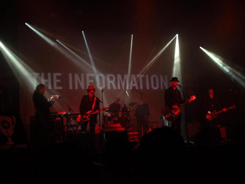 The Information - The Information, finalist bij de Grote Prijs van Nederland 2011 in de Melkweg Amsterdam.