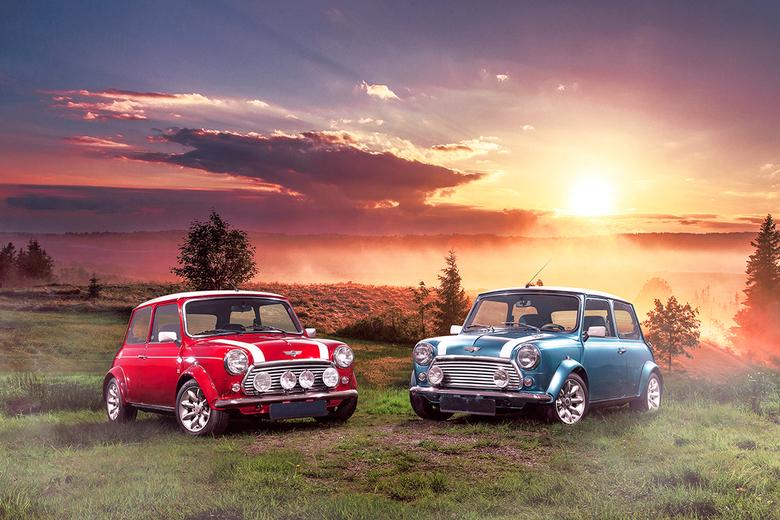 Mini Coopers - De legendarische Mini Cooper S