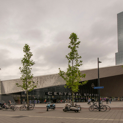 Het Nieuwe Rotterdam Centraal Station