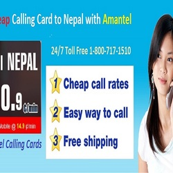 Calling to Nepal from USA - Calling Cards Amantel