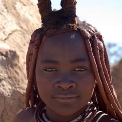 Getrouwde Himba vrouw