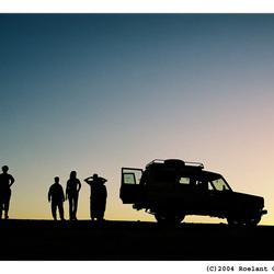 Sahara Silhouet