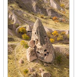 Beautiful mountains of Cappadocia