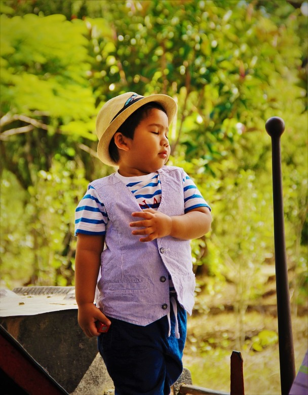 When I grow up, I want to be... - A young gentleman with an early passion.<br /> <br /> Dit zoontje van een Vietnamese vader stond zonder schaamte z