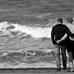 Romantiek bij zee.