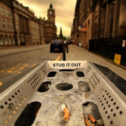 Stub it out
