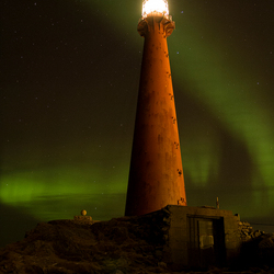 Lighthouse Andenes Noorwegen