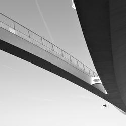 Fiets en voetgangersbrug over Amsterdam-Rijnkanaal 4
