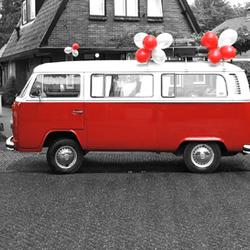 De rode VW