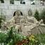 Stel in tuin