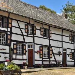 Vakwerkhuis in het gehucht Helle bij Mechelen (NL)