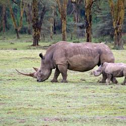 moeder en dochter in Kenia