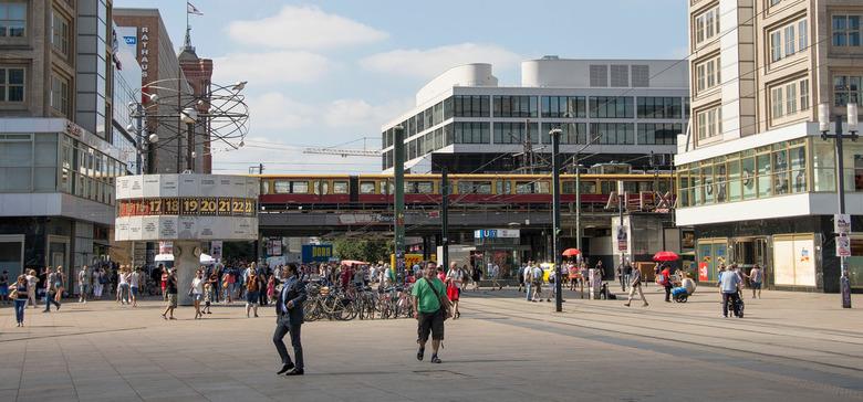 Berlijn - Alexanderplatz - Berlijn - Alexanderplatz
