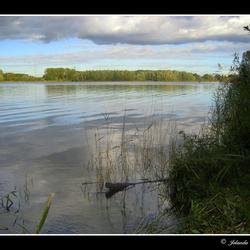 Genieten van de stilte op het water