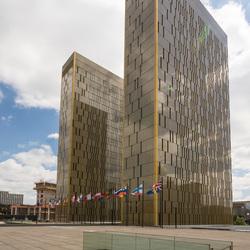 Luxemburg - Kirchberg - Europees Gerechtshof